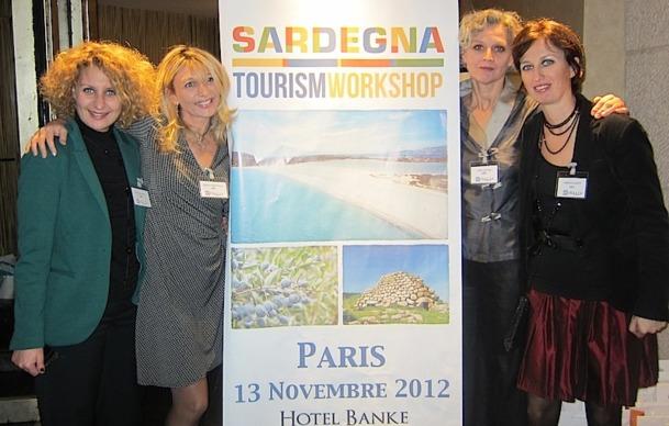 L'équipe de l'ENIT s'est réunie mardi 13 novembre à Paris pour un workshop sur la Sardaigne - DR