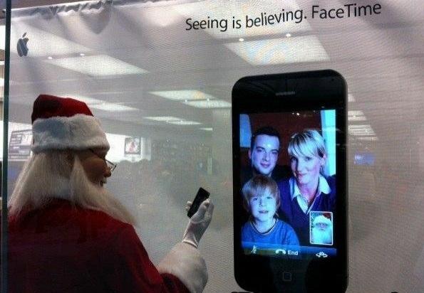 Le digital ? Même le Père Noël s'y met en cette fin d'année, propice aux bilans et aux perspectives... /photo dr