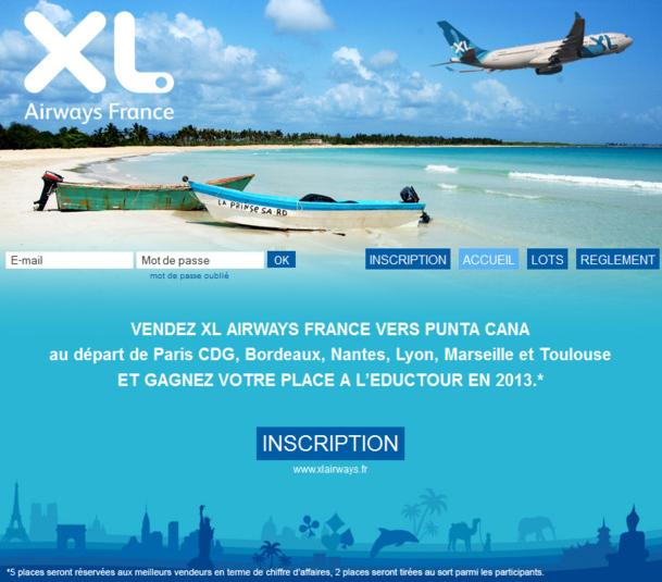 XL Airways lance un challenge de ventes vers Punta Cana