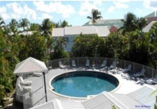 La piscine est de forme ronde et mesure 10 mètres de diamètre - Photo DR