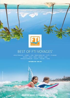 La nouvelle brochure Best Of de FTI Voyages. Cliquez sur l'image pour la consulter - DR