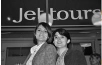 Parastou Baruteau et Lise Tixador les deux gérantes de l'agence Jet tours de Montpellier - DR
