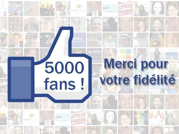 TourMaG.com : 5 000 fans Facebook et moi et moi et moi !