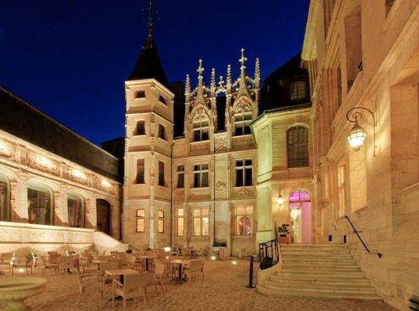 La Façade de l'hôtel de Bourgtheroulde à Rouen, bientôt affilié à Marriott sous l'enseigne Autograph. DR Marc Dezemery- mdezemery.zenfolio.com