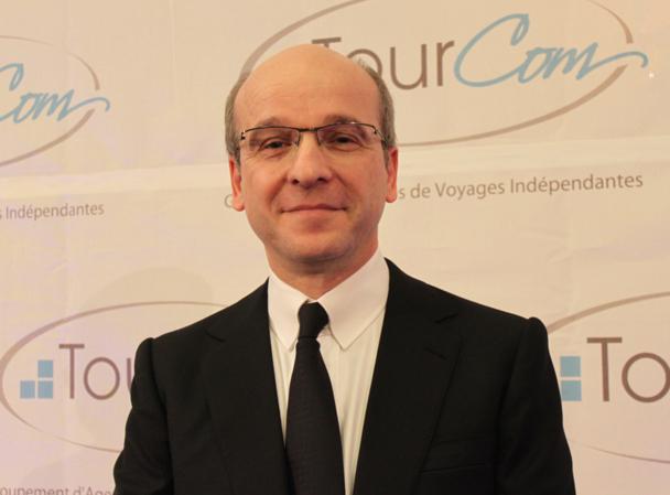 A l'occasion de la Convention 2012, Richard Vainopoulos a souhaité aider ses adhérents à développer leur système de services annexes - DR : A.B.