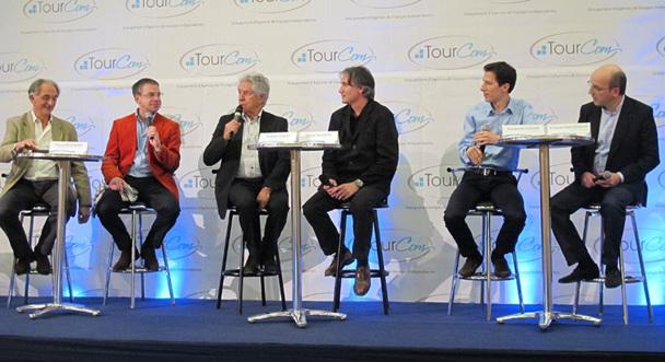 Bernard Petitjean, Thierry Beaumont, Philippe Gildas, Michel Valentin, Guillaume Cahour et Richard Vainopoulos - DR : A.B.