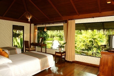 Le Centara Koh Chang Tropicana Resort dispose de 157 chambres suites et bungalows - Photo DR