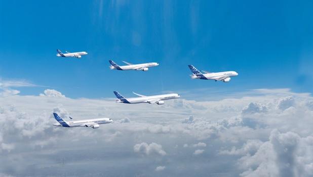 En août 2020, une nouvelle commande et encore 7501 avions à livrer pour Airbus - Crédit photo : Airbus