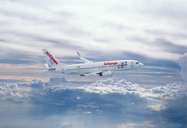 Pour la première fois de son histoire, Air Europa a enregistré un résultat négatif de 1 million d'euros en 2011, marqué par un surcoût fuel de 110 millions d'euros - DR : Air Europa