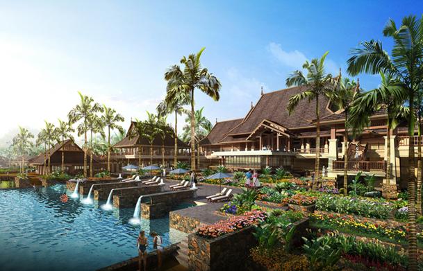 En 2013, 4 ouvertures supplémentaires sont prévues, 2 à Abu Dhabi, et 2 autres en Thaïlande et en Chine - DR : Anantara