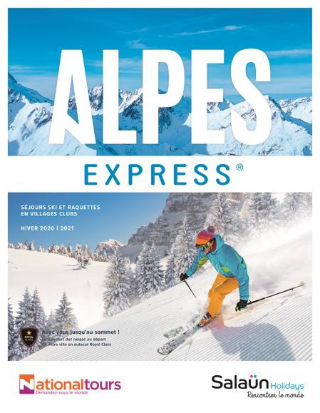 La brochure Alpes Express 2020 - 2021 - DR