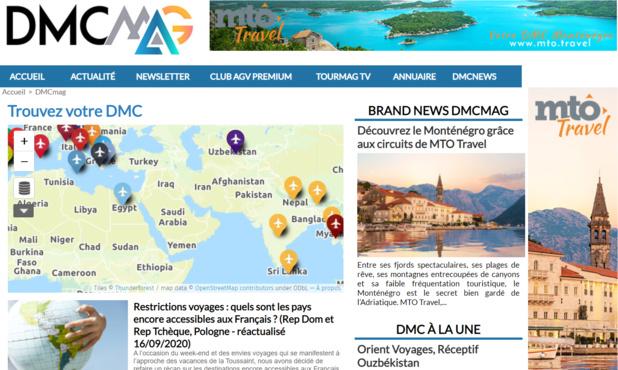 """#DMCmag : la """"verticale"""" des réceptifs fait son entrée sur TourMaG.com"""