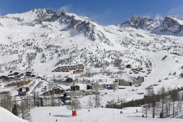 La station du Mercantour Isola 2000 dans les Alpes du Sud - Photo DR