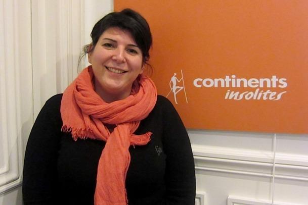 Sophie Debaye, responsable de l'Appart Continents Insolites à Paris. DR