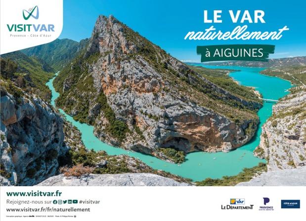 Le Var lance une campagne d'affichage à Lille et Lyon - DR