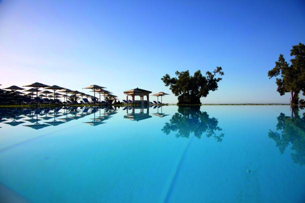 La piscine de l'hôtel le Sultan en Tunisie - DR