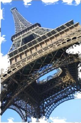 7 nouvelles Merveilles du Monde : la France y est représentée avec l'emblématique Tour Eiffel.