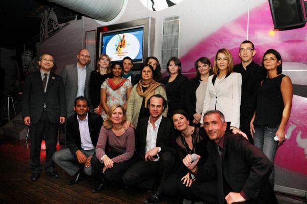 ASIA Lyon - Partenaires de l'Asie Pacifique et l'équipe commerciale d'Asia - DR