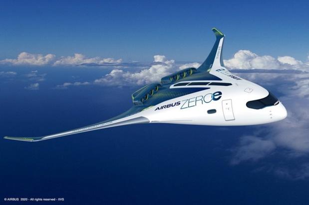 """Les avions """"0 émission"""" d'Airbus devraient voler en 2035 - Crédit photo : Airbus"""