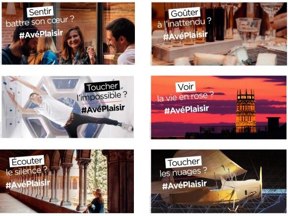 Les visuels de la campagne Toulouse Métropole - DR