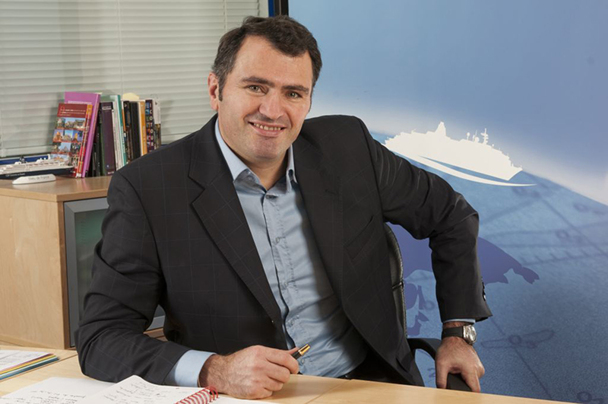 Antoine Lacarrière souhaite que 2013 soit aussi intense et riche que l'a été 2012 - DR : CDF