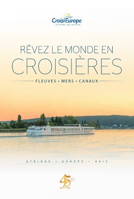 La brochure CroisiEurope - DR