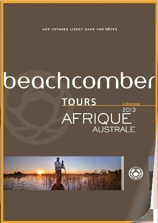 La brochure Afrique Australe de Beachcomber Tours est éditée à 30 000 exemplaires - DR