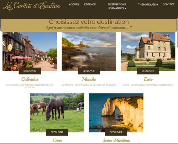 Le site Les Carnets d'Evatours met à l'honneur la production spécialisée sur la Normandie - DR