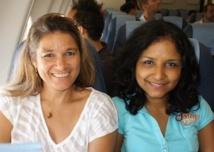 Patricia Lebon et Marie-Jo Versolato, conseillères voyages chez Run Voyages - Photo CE