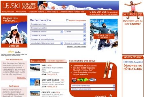 LeSkiduNordauSud.fr compte doubler son chiffre d'affaire cette saison