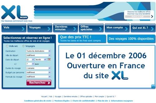 Exclusif : XL.com sera en ligne le 1er décembre