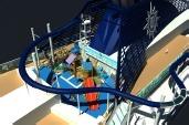 Le Vertigo est le toboggan le plus long jamais construit sur un bateau de croisière - Photo DR