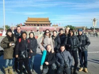 Les agents de voyages présents en Chine pour l'éductour ont pu découvrir la production de Jet tours dans le pays - Photo DR