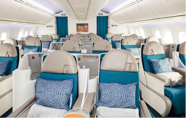 De l'air purifié dans une cabine plus haute et spacieuse, d'un confort sonore grandement amélioré, des éclairages led, Internet et wifi haut débit./crédit ATN