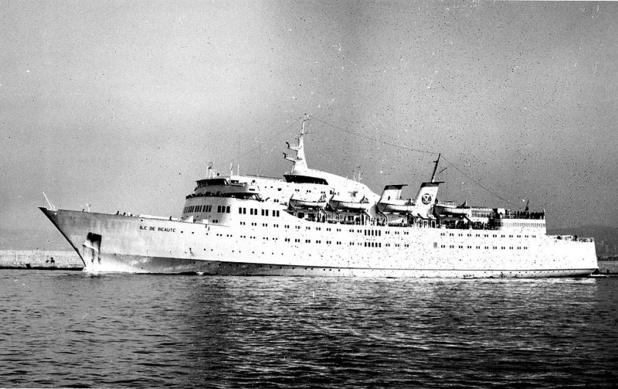 Mis en service en juin 1966, le Sunward était un navire révolutionnaire conçu pour le service de ferry long-courrier - DR