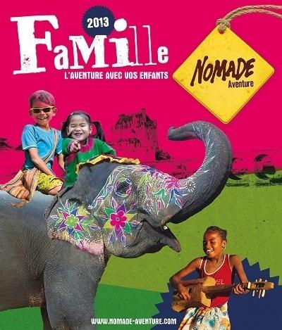La nouvelle brochure famille de Nomade Aventure est disponible à partir du vendredi 14 décembre 2012 - DR