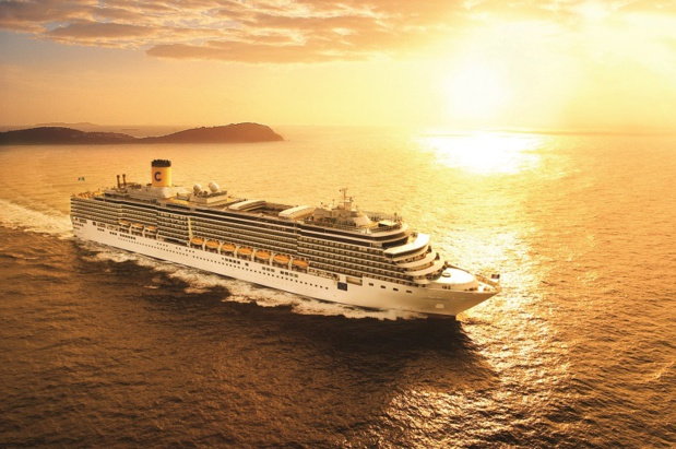 Le Costa Deliziosa est le premier navire de la compagnie à avoir repris la mer, le 6 septembre 2020 - DR : Costa Croisières