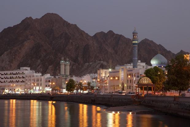 Corniche de Muttrah au crépuscule, Sultanat d'oman - DR : DepositPhotos, philipus