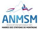 Le nouveau logo de l'ANMSM intègre une écharpe tricolore d'élu et une montagne - DR