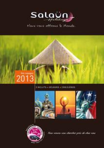 Salaün Holidays : le catalogue 2013 arrive en agences de voyages fin décembre