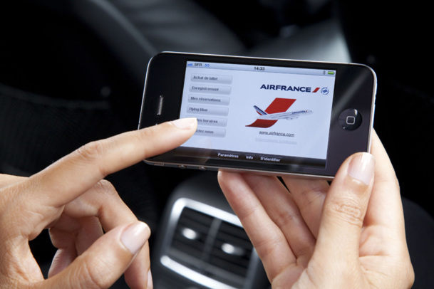 La moitié des réservations d'avion seront effectuées depuis un appareil mobile d'ici 2017, prédit l'IATA - Virginie Valdois / AF