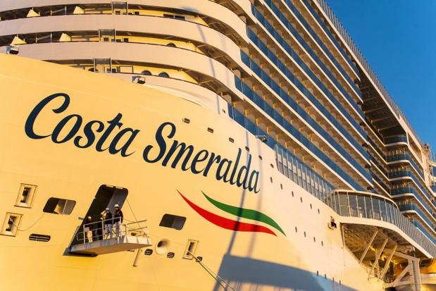 Le Costa Smeralda reprendra ses croisières à partir du samedi 10 octobre 2020 - DR : Lali Puig