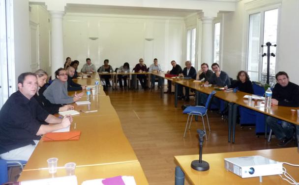 Les 22 participants de la 1ère  formation organisée dans le cadre du partenariat entre Atout France et l'APST et destinée aux futurs opérateurs de voyages - DR