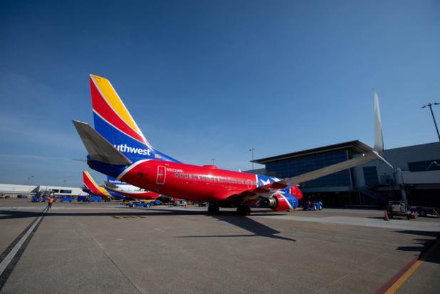 Un des appareils de Southwest - DR Southwest