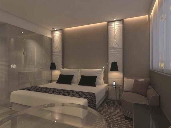 L'ensemble des chambres de l'hôtel va être rénové à partir de l'été 2013 - Photo DR