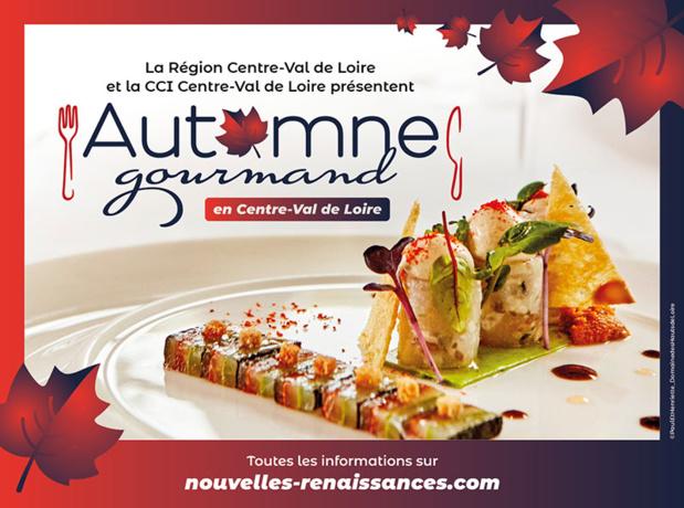 La Région Centre-Val de Loire a mis en place l'opération « Automne Gourmand » - Cliquez sur l'image pour en savoir plus