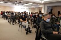 La réunion organisée à Marseille dans le respect des consignes sanitaires - DR : C.E.