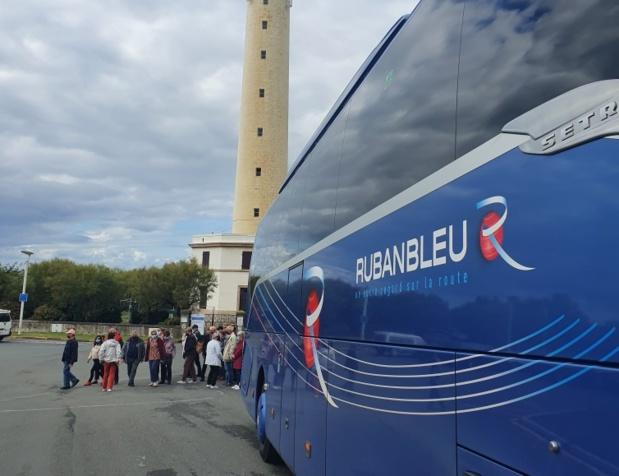 Pour cette 43e édition, ce sont 18 autocars qui prennent la route entre le 2 et le 20 octobre, pour emmener près de 750 personnes... au Pays Basque - DR : Voyages Ruban Bleu