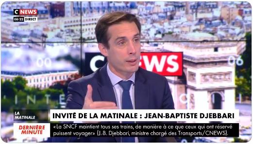 """Jean-Baptiste Djebbari : """"les tests antigéniques dans les aéroports d'ici la fin du mois"""""""