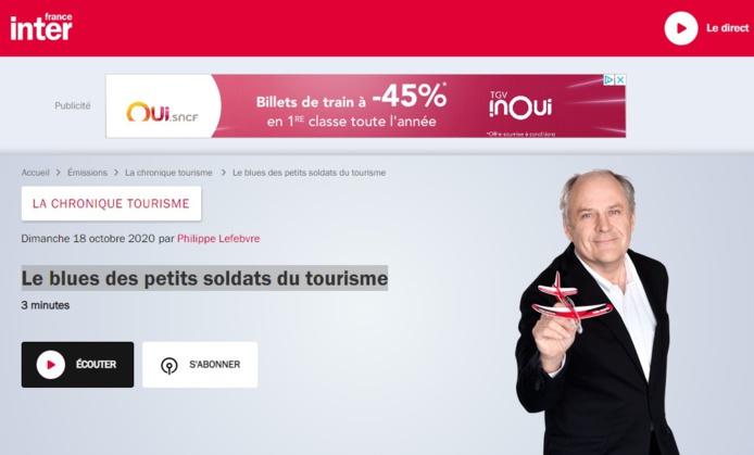 Agents de voyages : les petits soldats du tourisme à l'honneur du FranceInter